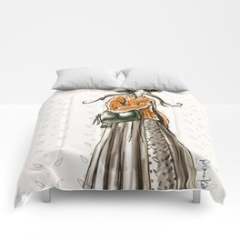 Cozy country walk Comforters