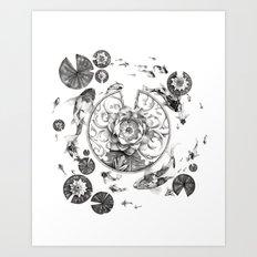 Around the Clock Art Print