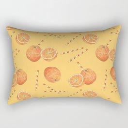 orange juice _ light Rectangular Pillow
