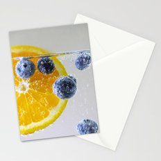 Bubbly Fruit Stationery Cards