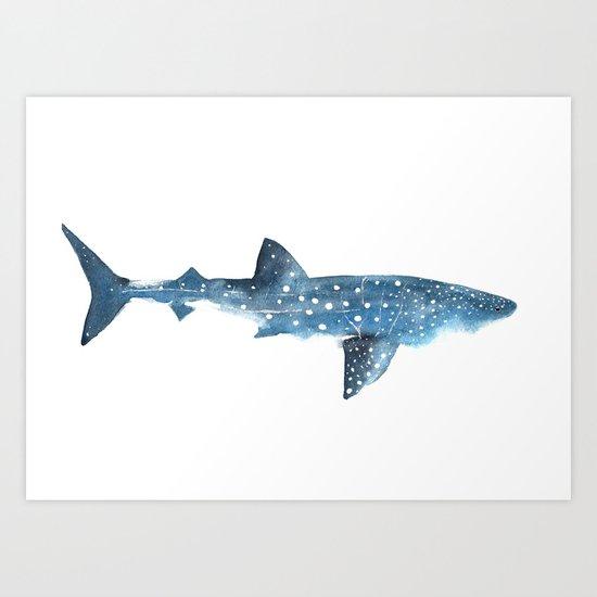 Whale Shark Art Print