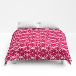 Red & White Pattern Comforters