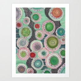 Lots of Circles Art Print