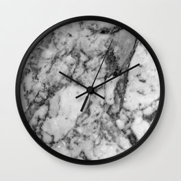 Marbled 2 Wall Clock