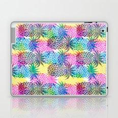 Pineapple CMYK Repeat Laptop & iPad Skin