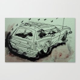greencar Canvas Print