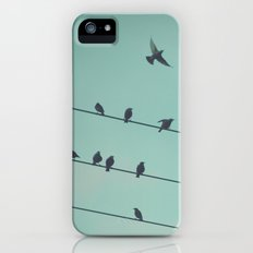 BIRDS iPhone (5, 5s) Slim Case