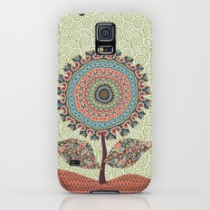 Fabby Flower-Vintage colors Slim Case Galaxy S5