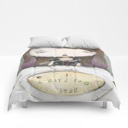 I HATE YOU DUDE! Comforters