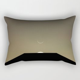 2001 Space Odyssey Minimal Dawn of Man Monolith Alignment Rectangular Pillow