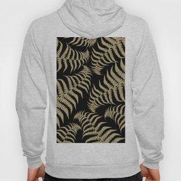 Fern Leaves Pattern - Golden Dream #1 #ornamental #decor #art #society6 Hoody