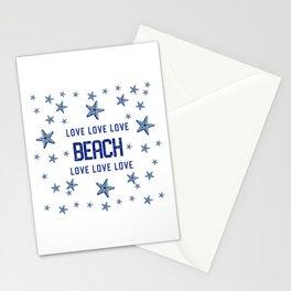 Beach Love - Nadia Bonello Stationery Cards