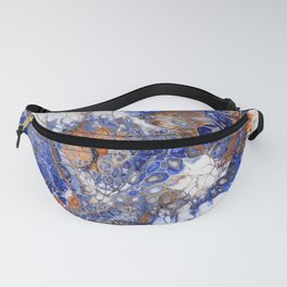 Team Splash, Orange and Blue Fanny Pack