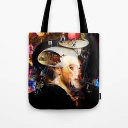 Bosch and Rubens Sandwich with a Peep of Magritte Tote Bag