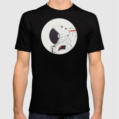 GOD IS AN ASTRONAUT Mens Fitted Tee Black MEDIUM