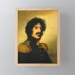 Frank Zappa - replaceface Framed Mini Art Print