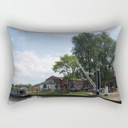 Fradley junction wharf Rectangular Pillow