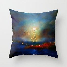 A beautiful Christmas Throw Pillow