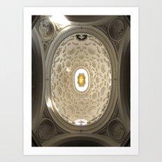 Bernini's San Carlino Art Print