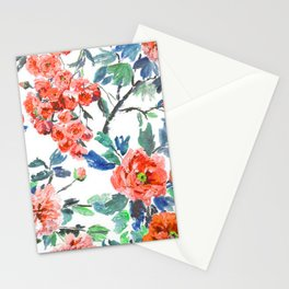 FLORAL - 18118/1 Stationery Cards