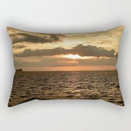 Sunset at Tamarindo Rectangular Pillow