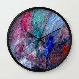 Betta Frenzy Wall Clock