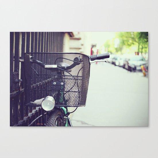 Bike in Paris Canvas Print