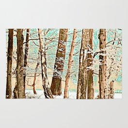 Mix of Trees Rug
