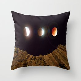 My Blood Moon, Skinner Butte combination Throw Pillow