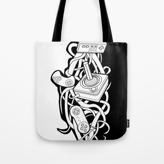 Vines of the Past Tote Bag