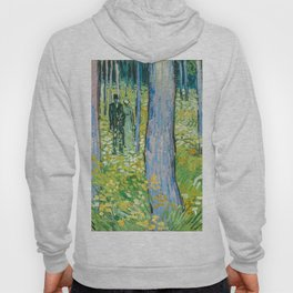 Undergrowth with Two Figures by Vincent van Gogh Hoody