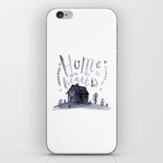 Home Is Where The Heart Is iPhone & iPod Skin