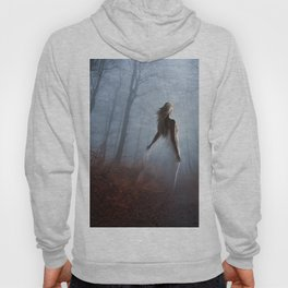 Lady In White Hoody