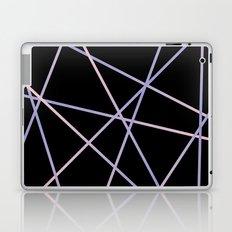Rose Quartz & Serenity on Black Laptop & iPad Skin