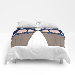Lingeramas - Sexy Navy Blue Lingerie Legging Pajamas Comforters
