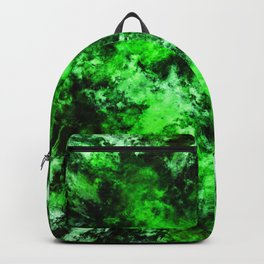 Green burst Backpack