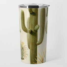Naturalist Cacti Travel Mug