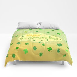 Happy St Patrick's Day Comforters
