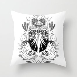 Coleoptera Throw Pillow