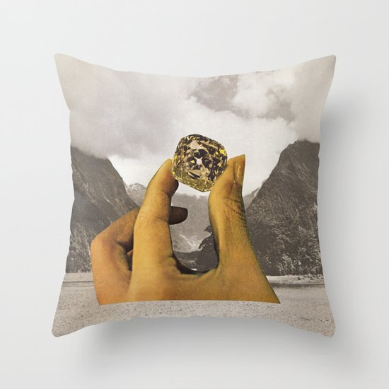 SEMI PRECIOUS Throw Pillow