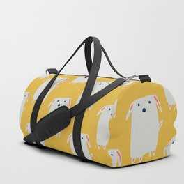 Cute sweet Dog Yellow Duffle Bag