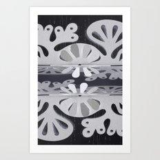 Paper Cut Double Dream Art Print