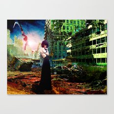 Ruins of Forgotten Time Canvas Print