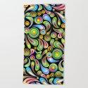 Psychedelic Color Drops Abstract Art Design by bluedarkatlem