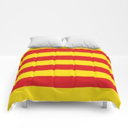Catalan Flag - Senyera - Authentic High Quality Comforters