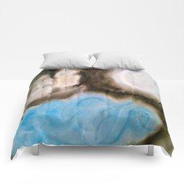 Moonlit Ghost Ship Comforters