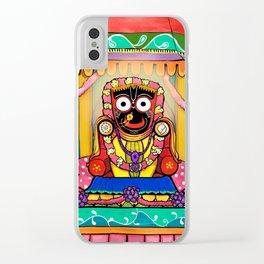 Lord Jagannatha Clear iPhone Case