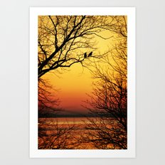 Sunrise Submission Art Print