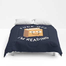 All Booked Up Comforters