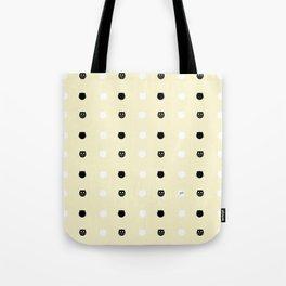 Pattern cats-Pastel yellow Tote Bag